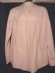 Contemporary Spiegels Paradox Cotton Tunic Dress Shirt Rose