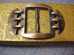 Vintage Cast Metal Belt Buckle