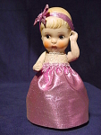 """Vintage Adorable Bisque Doll Molded Hair 6-3/4"""" Tall"""