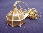 Miniature Dollhouse Hanging Lamp With Power Cord