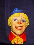 Legend Products England Clown No. 6 Chalkware Head