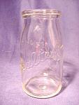 Vintage Sealtest Sour Cream Dairy Bottle