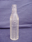 Clear Art Deco Orange Crush Bottle