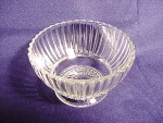 Anchor Hocking Queen Mary Pattern Sherbet Dish