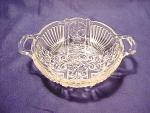 Indiana Glass Co. Killarney Open Handled Nappy Bowl