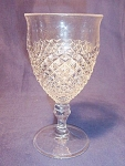 Vintage Westmoreland Glass Co. English Hobnail Goblet