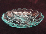 Lovely Turquoise Divided Relish Dish