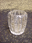 Vintage Cut Crystal Toothpick Match Holder