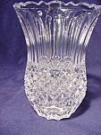 Contemporary Lead Crystal Pineapple Vase