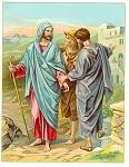 Full Color Jesus Illustration