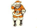 Full Color Santa Claus Illustration