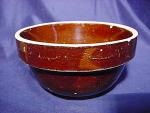 Vintage Small Sized Brown Glaze Milk Bowl