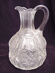 Vintage Pattern Glass Cruet
