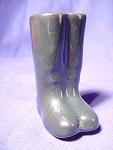 Vintage Riding Boots Salt Or Pepper Shaker