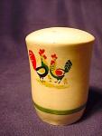 Vintage Rooster, Hen And Chicks Salt Or Pepper Shaker