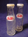 Pair Of Pepsi Advertising Novelty Salt And Pepper Shakers