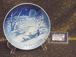 Bing & Grondahl Christmas 1970 Plate