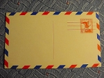 Us Airmail 1960's Postcard