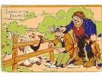Hobo Series No. 1 Humorous Postcard