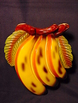 Vintage Bunch Of Bananas Wallpocket Vase