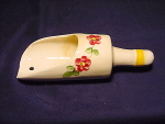 Vintage Flour Scoop Wallpocket Vase