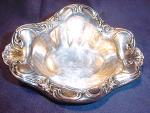 Vintage Sheridan Silver Co., Inc. Silver Plate Bon Bon Dish