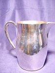 Vintage Towle Silver Plate Water Pitcher