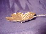 Vintage Bmf Silver Plate Four Leaf Clover Candy Dish