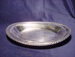 Vintage Wm. Rogers Silver Bread Tray Bowl