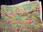 Vintage Jonelle Duracolor Daisy Chain Medium Weight Cotton Fabric