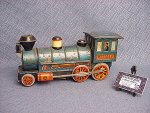 Vintage 1950's Tin 'western' Train Engine