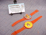 Set Of (2) Vintage Plastic Game Face Watches