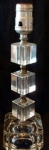 Crystal Boudoir Bedroom Table Or Vanity Lamp