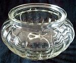 Pressed Glass Dresser Jar