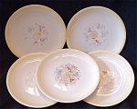 Paden City Pottery Co Bread & Butter Plates - Set Of 5