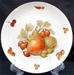 Seltmann Weiden Bavaria Fruits Nuts Luncheon Plate