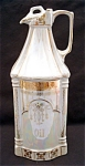 German Opalescent Oil Kitchen Cruet