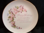Lasting Memories Grandmother Plate 1986