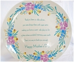 Mothers Day Decorative Hanging Plate
