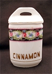 United Porcelain Union K Cinnamon Spice Canister