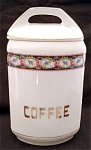 United Porcelain Union K Coffee Kitchen Canister