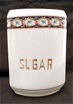 United Porcelain Union K Sugar Kitchen Canister