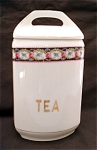 United Porcelain Union K Tea Kitchen Canister