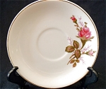 Made In Japan Floral Demitasse Saucer