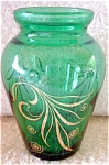 Anchor Hocking Forest Green Mini Bud Vase