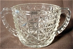 Anchor Hocking Thousand Line Sugar Bowl