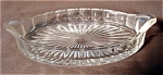 Heisey Glass Narrow Flute Pickle Tray
