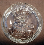 Crystal Glass Jelly Jar Cover Lid
