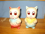 Porky Pig In Blue Vest Salt & Pepper