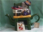 Gone Shopping Teapot